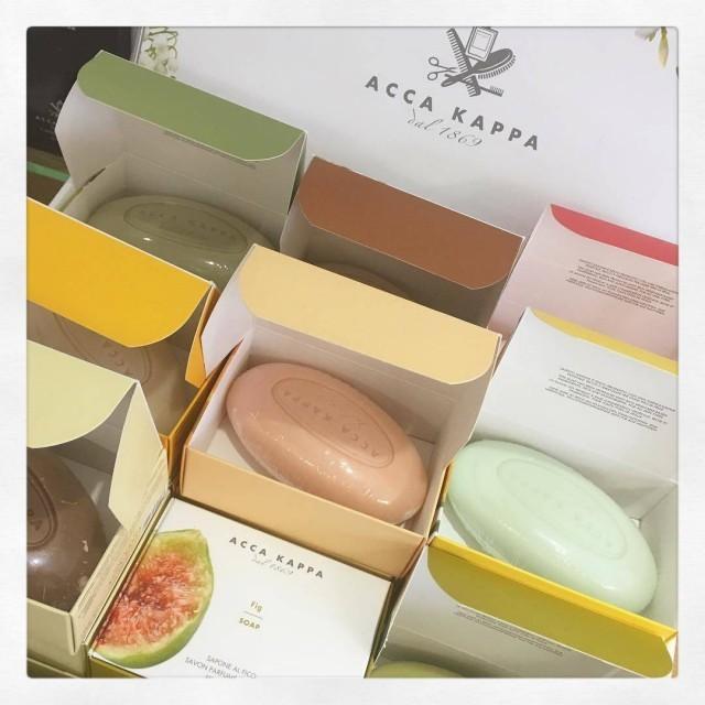 Wir lieben die duftenden Seifen von Acca Kappa aus Italien!hellip
