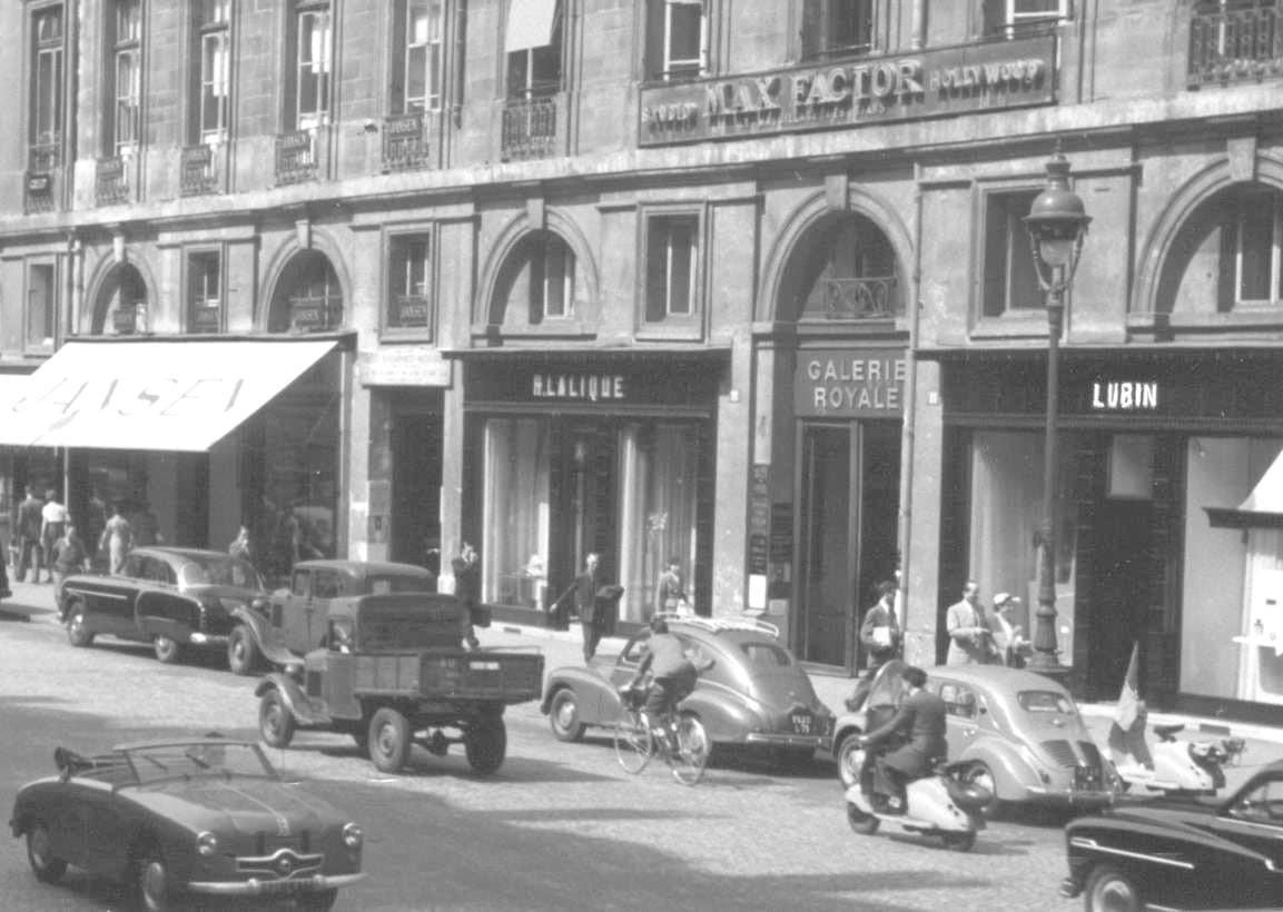 1022bis Rue Royale années 1955