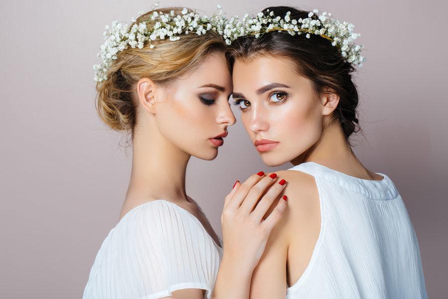 Frisurentrends für die Hochzeitssaison 2018