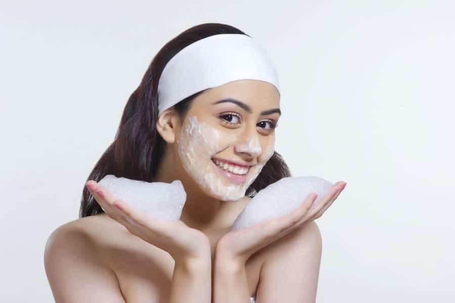 Gesichtsreinigungs-Tipps