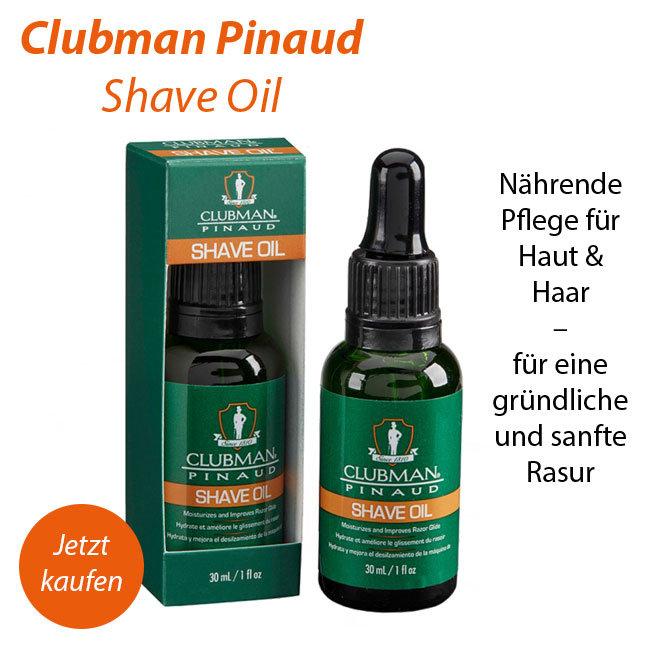 Clubman Pinaud Shave Oil Herrenpflege online kaufen bei meinduft