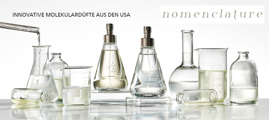Neu im Shop: Nomenclature – Molekulare Düfte aus den USA