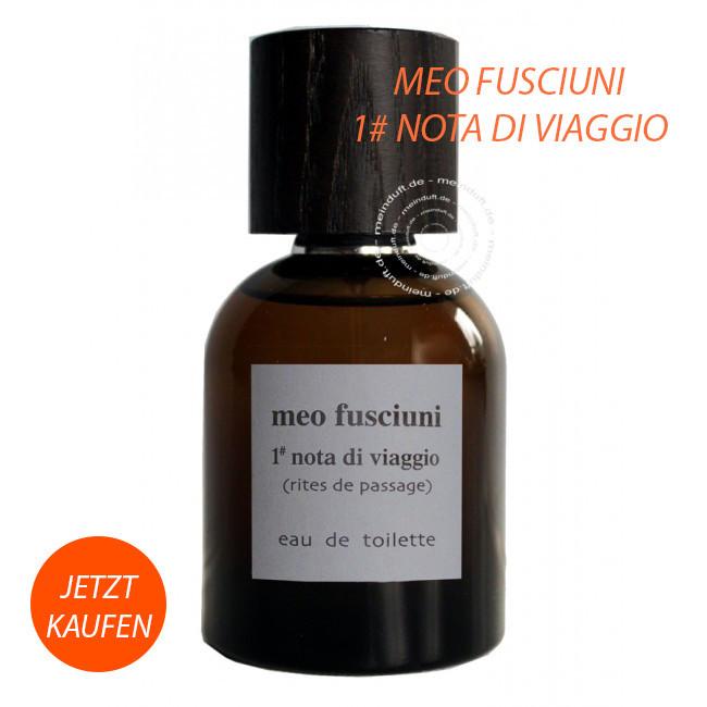 Meo Fusciuni 1 Nota di Viaggio Parfum online kaufen bei meinduft in der Online Parfümerie